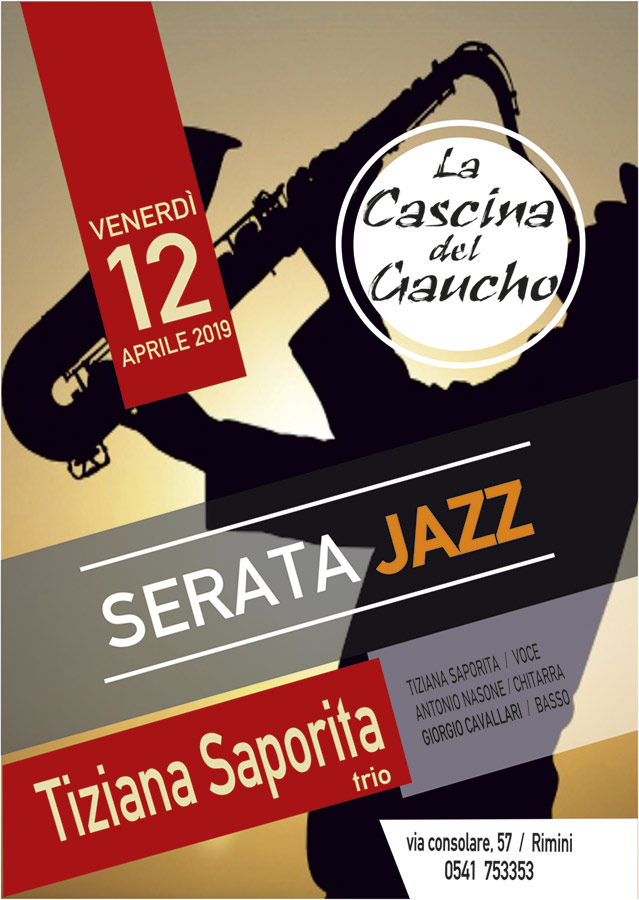 Serata Jazz a Rimini Cascina del Gaucho